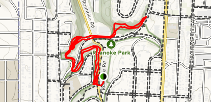 Roanoke Park Trails Map