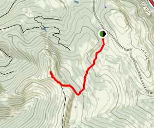 Shrine Ridge Trail Map