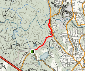 South Turkey Creek Trail Map