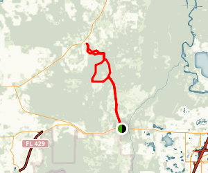 The Florida Trail Map