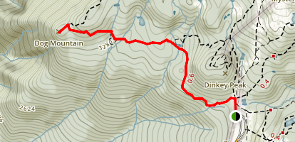 Dog Mountain Trail Map