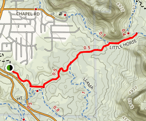 Little Horse Trail Map