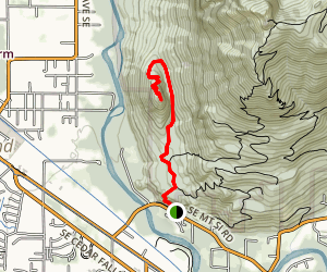 Little Si Trail Map