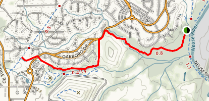 Abbots Creek Trail Map