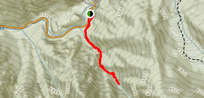 Stairs Gulch Trail Map