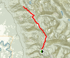 Alpine Big Hawk Trail Map