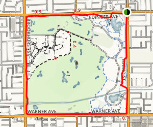 Mile Square Regional Park Kid's Nature Trail Map