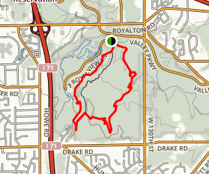 Royalview Trail Map