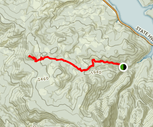 Eagles Rest Trail Map