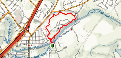 San Gabriel Loop Trail Map
