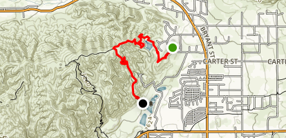 Grape Avenue Trail Map