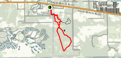 Hickey's Creek Trail Map