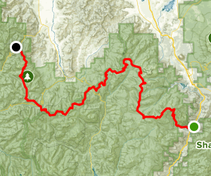 PCT: CA Section P - Highway 5 to Etna Summit Map