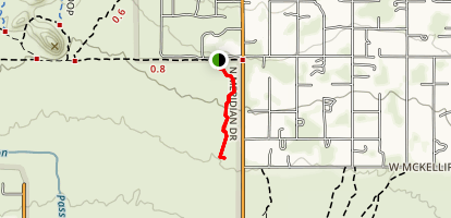 County Line Trail Map