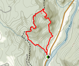 Pine Knob via Appalachian Trail Loop Map