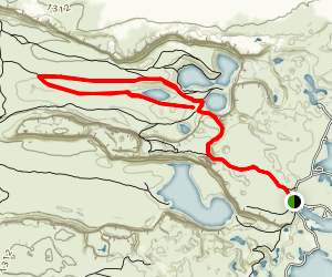 Dusty Lake Trail Map