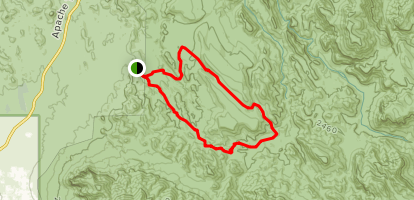 Lost Dutchman Loop Map