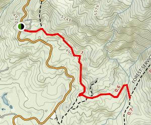 Lower South Ridge Trail Map