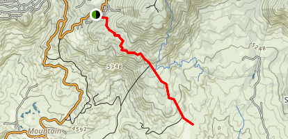 May Valley Truck Trail Map