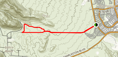 Turtlehead Loop Trail Map