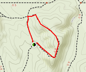 Titan's Loop Trail Map