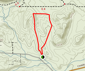East Fork Loop Trail Map