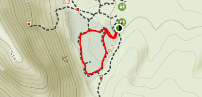 Calico Basin Walking Path Map