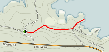 Iron Mountain Blue Trail Map