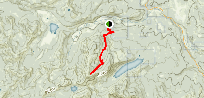 Mount Lola Trail Map
