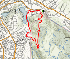 Cobblestone Trail Loop Map