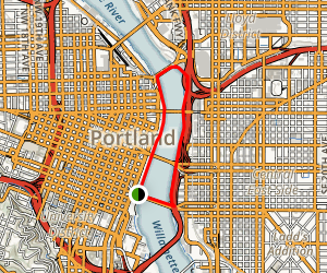 Eastbank Esplanade Loop Trail Map