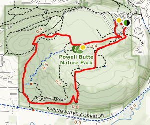 Orchard and Cedar Grove Loop Trail Map