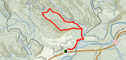 Fullerton Loop Trail Map