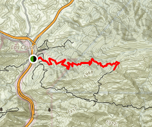 Gaviota Peak Trail Map