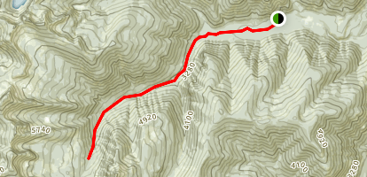 Ross Creek Pack Trail Map