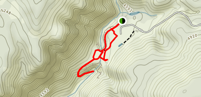 Pine Creek Trail Map