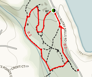 Autrey Mill Nature Preserve Trail Map