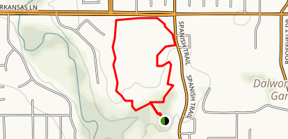 Veterans Park Trail Map