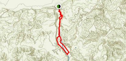 Wind Wolves Preserve Trail Map