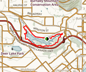 Burnaby Lake Park Trail Map