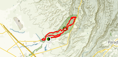 Bidwell Park Trail Map