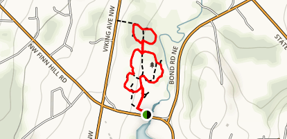 Poulsbo's Fish Park Trail Map
