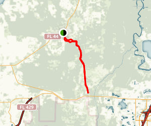 Seminole State Forest Trail Map