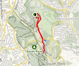 South Park Hike Trail Map