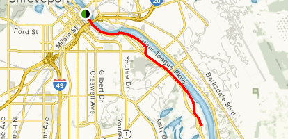 Clyde Fant Memorial Parkway Trail Map