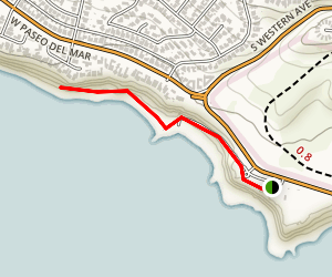 Royal Palms State Beach to Cabrillo Beach Trail Map
