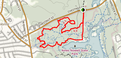 Ames Nowell State Park Trails Map
