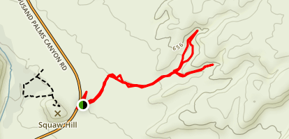 Indian Palms Trail Map