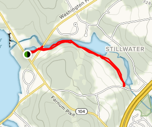 Stillwater Reservoir Map