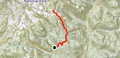 Indian Bar Trail Map